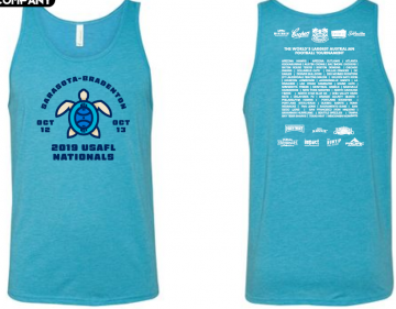 2019 Nationals Tank Aqua