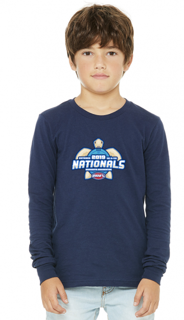 2019 Nationals Kids Long Sleeve