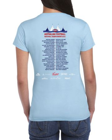 2018 Nationals Logo Ladies T-shirt
