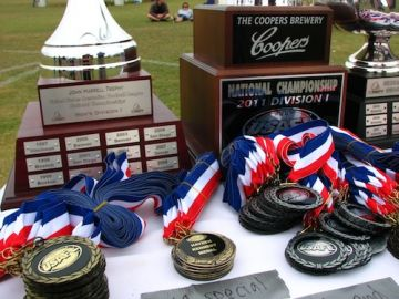 2011 Nationals Medals