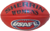 Women's Red Sherrin