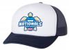 2019 Nationals Hat Blue White