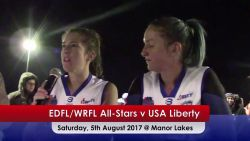 USA Liberty v EDFL WRFL All Stars