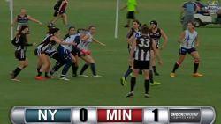 Women's, D1, Rd 1, New York vs Minnesota