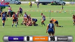 Women's D1, San Francisco vs Minnesota