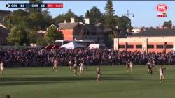 Highlights of Mason Cox's Debut for Collingwood