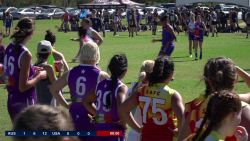 Aussie Sparks v USAFL - Women's Exhibition Match 1