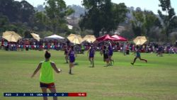 Aussie Sparks v USAFL - Women's Exhibition Match 2