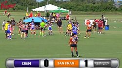 Women's, D1, Rd3, Denver vs San Francisco