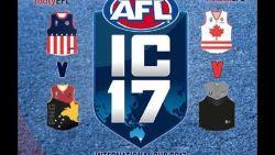AFL INTERNATIONAL CUP 2017 - USA V PNG