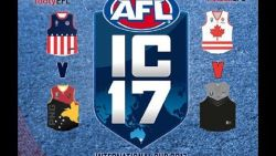 AFL INTERNATIONAL CUP 2017 - USA V PNG
